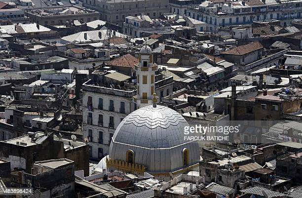CHEBALLAH A general view taken on July 28 2015 shows a mosque in the old part of Algiers known as the 'Kasbah' Faced with a burst in population...