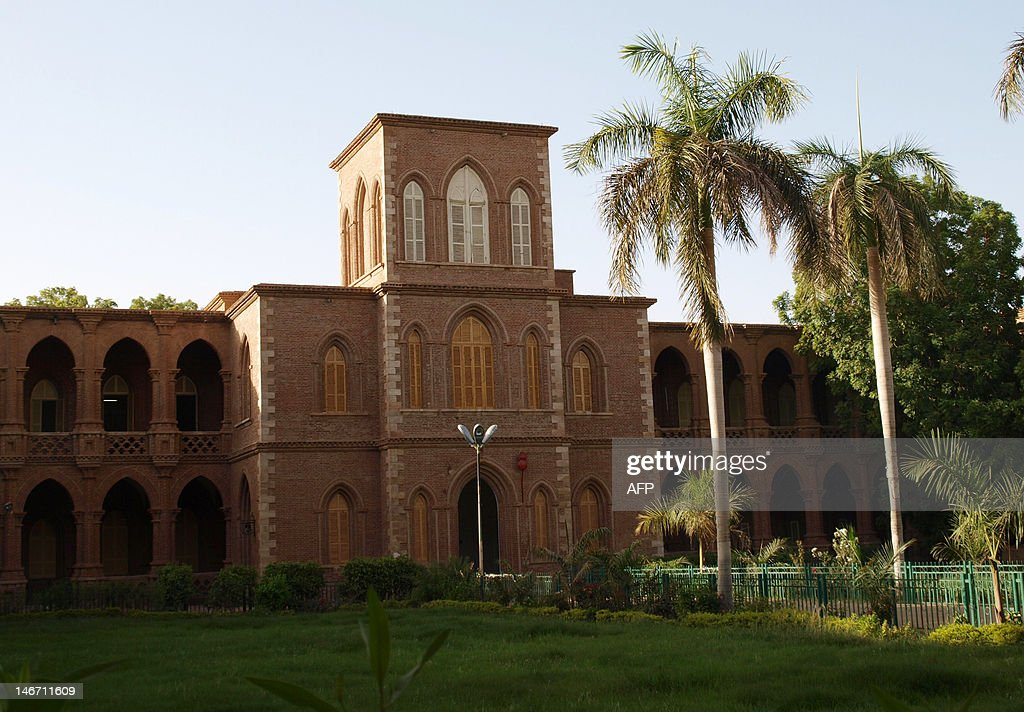 A general view taken on June 13 2012 shows the campus of the Sudanese capital's Khartoum University the cradle of Sudan's first postindependence...
