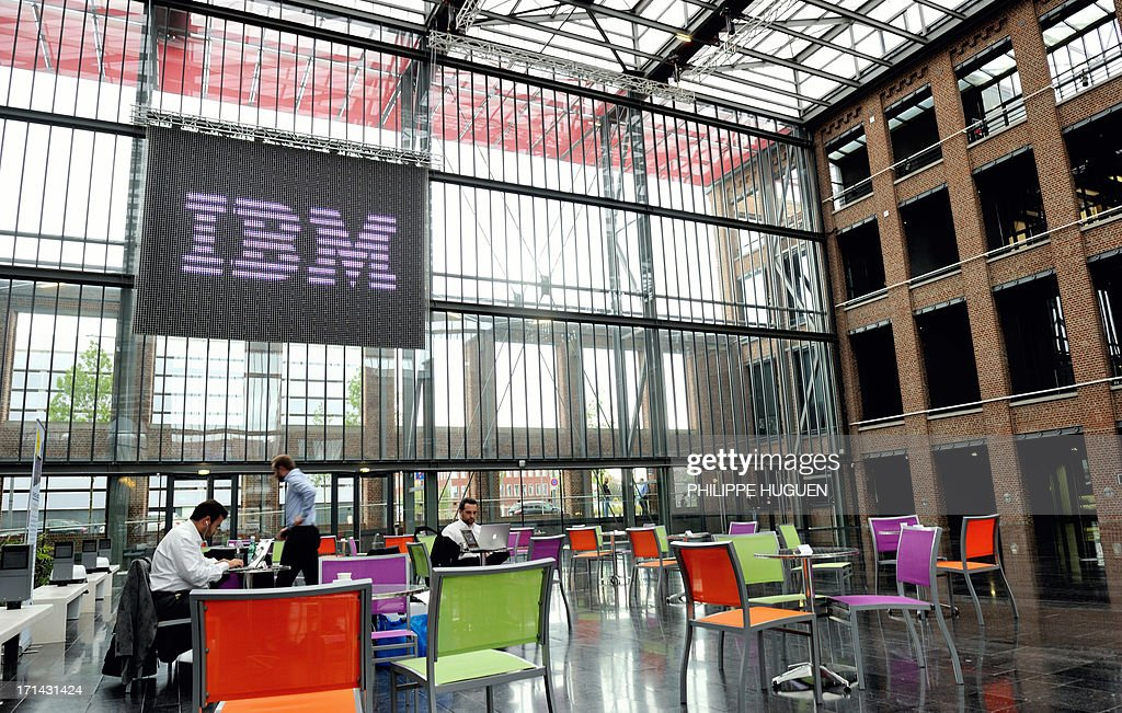A general view taken on June 24, 2013 shows the hall of the EuraTechnologies computer center in the northern French city of Lille as the French subsidiary of US computer giant IBM announced the opening of the IBM Services Center Lille, which will lead to the creation of 700 jobs over the next three to five years.