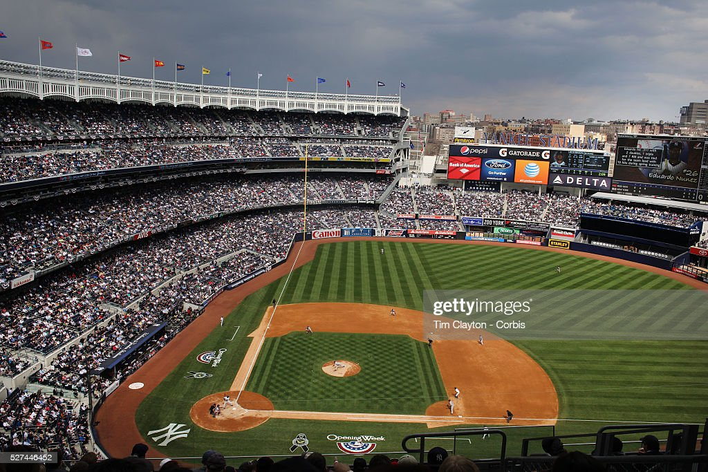 A general view to a packed Yankee Stadium during the New York Yankees... Pictures   Getty Images