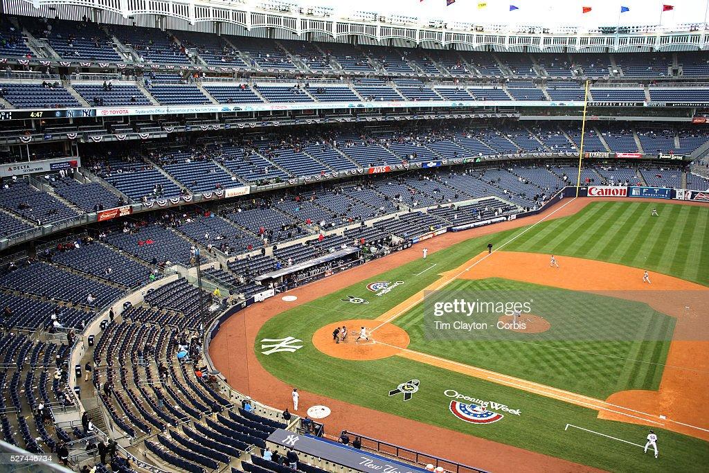 Empty Yankee Stadium At Night Empty yankee stadium a...