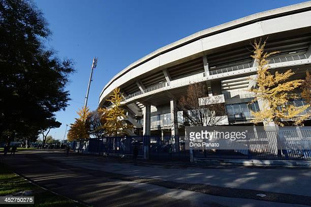 A general view to Stadio Marc'Antonio Bentegodi prior the Serie A match between AC Chievo Verona and AS Livorno Calcio at Stadio Marc'Antonio...