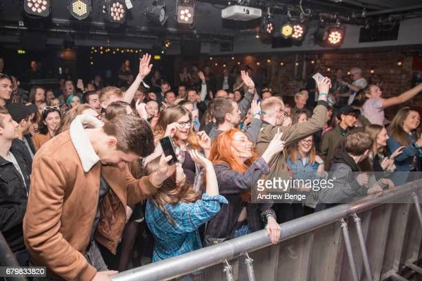 General view while Casey Lowry performs at The Wardrobe during Live At Leeds on April 29 2017 in Leeds England Live at Leeds is a music festival that...