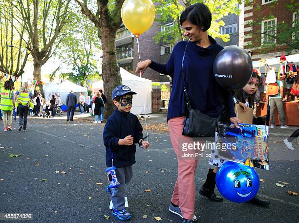 General views at A Perfect Day London's most exciting street festival dedicated to raising support and awareness for children with special needs on...