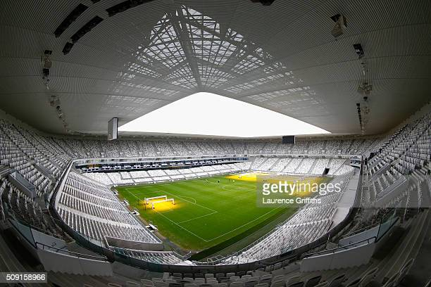 General views at Nouveau Stade de Bordeaux on February 6 2016 in Bordeaux France