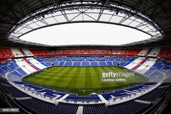 General Views at Stade de Lyon on February 3 2016 in Lyon France