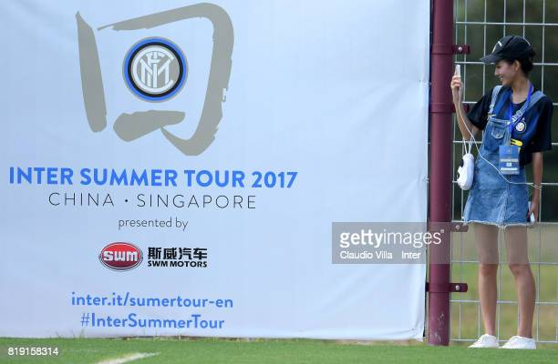 General views during a FC Interazionale training session at Suning training center on July 20 2017 in Nanjing China