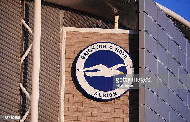 General Views Of Amex Stadium home To Brighton Hove Albion at Amex Stadium on April 22 2013 in Brighton England