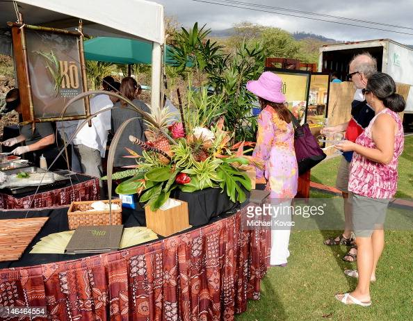General views of atmosphere at the Taste of Wailea at the 2012 Maui Film Festival on June 16 2012 in Wailea Hawaii