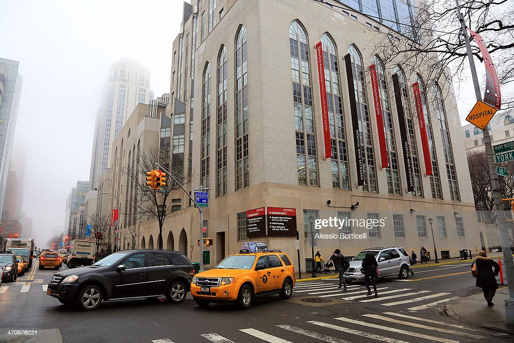 General views of NewYork-Presbyterian/ Weill Cornell Medical Center on February 21, 2014 in New York City. The 31-year-old Princess, whose full title is Madeleine Therese Amelie Josephine, Princess of Sweden, Duchess of Halsingland and Gastrikland, is fourth in line to the throne of Sweden. She married US-British banker Christopher O'Neill in June, and the couple announced in September that they were expecting their first child. 'The Office of the Marshal of the Realm is delighted to announce that H.R.H. Princess Madeleine gave birth to a daughter on February 20, 2014 at 10.41 pm local time New York,' the Swedish court said. 'Both mother and child are in good health.'