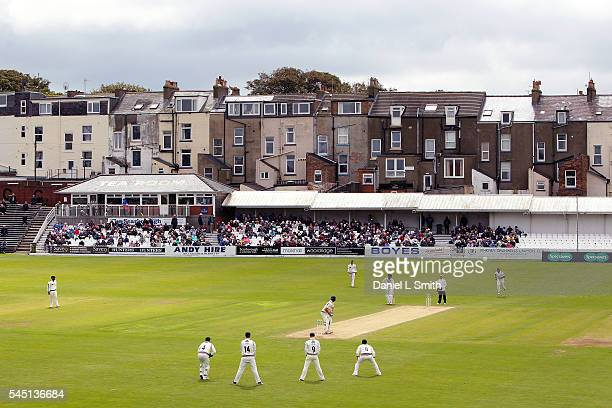 General views of play during day three of the Specsavers County Championship division one match between Yorkshire and Middlesex at North Marine Road...