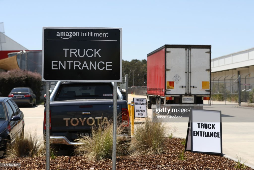 Online Retailer Amazon Launches In Australia