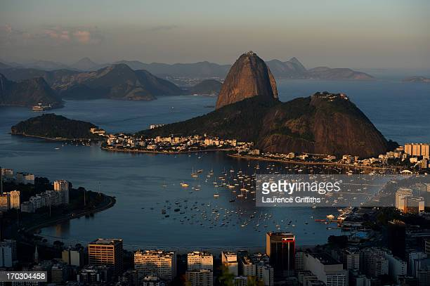 General views of the City on June 09 2013 in Rio de Janeiro Brazil