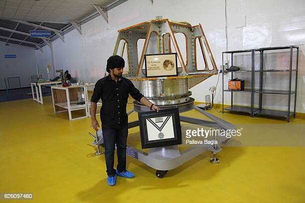 General views of the facilities at Indian startup company Team Indus on October 28 2016 in Bengaluru India Team Indus is trying to reach the moon...
