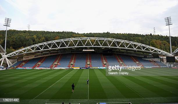 General views of The Galpharm Stadium on September 23 2011 in Huddersfield England