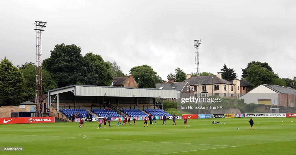 General views of the Hetton Center before the WSL 1 League match between Sunderland Ladies and Chelsea Ladies FC at the Hetton Center on June 29, 2016 in Hetton, England.