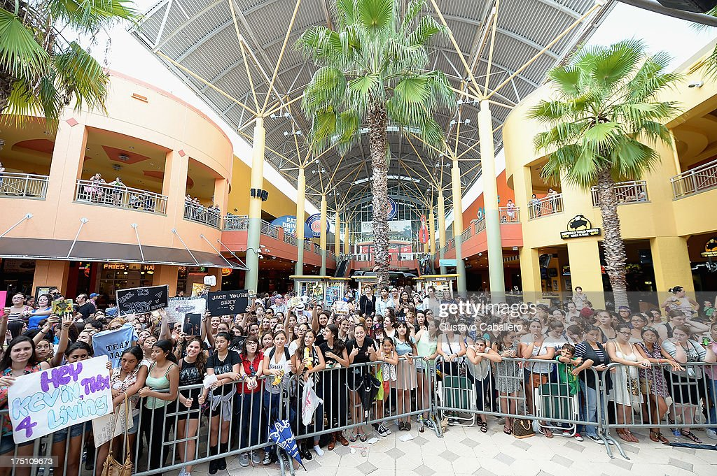 General views of 'The Mortal Instruments' at Dolphin Mall on July 31, 2013 in Miami, Florida.