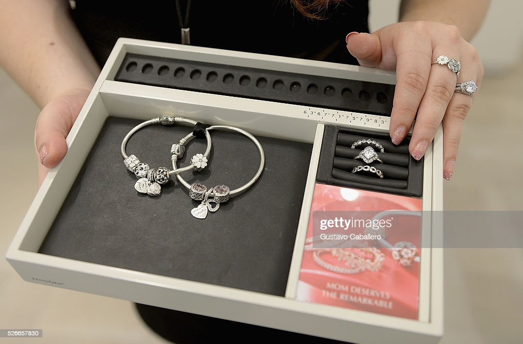 General views of the PANDORA Jewelry At Lincoln Rd. Grand Opening on April 30, 2016 in Miami Beach, Florida.