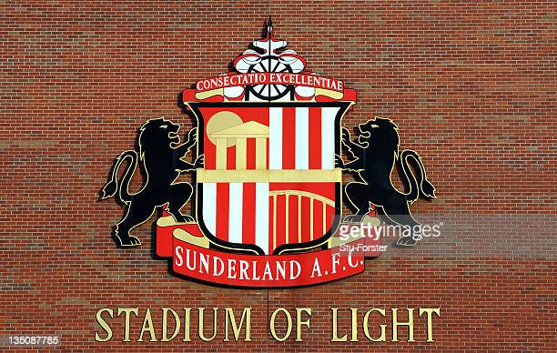 General views of the Stadium of Light on December 6 2011 in Sunderland England