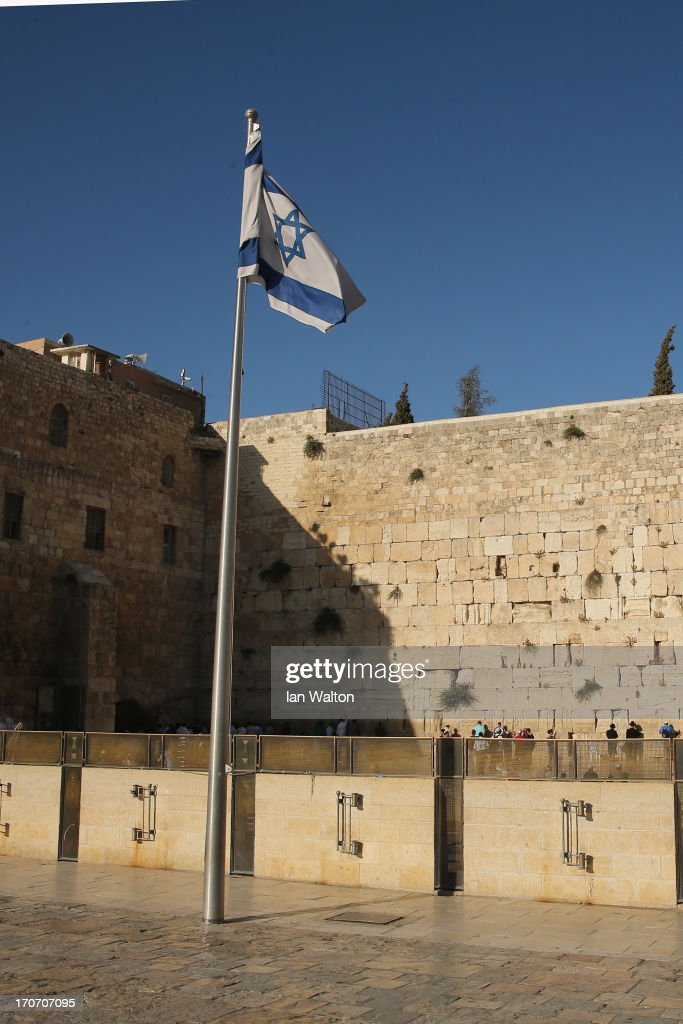 General Views of the Wailing Wall on June 16, 2013 in Jerusalem, Israel. Jerusalem, the capital of Israel and a city sacred to three major world religions, lies on the West Bank, a territory which has been occupied by Israel since 1967.
