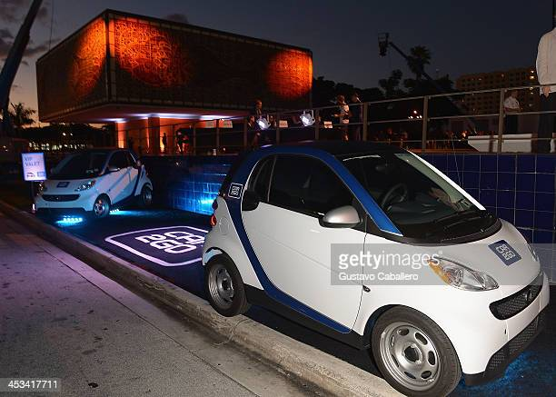 General views of the World Premiere Of 'A Portrait Of Marina Abramovic' Sponsored By CAR2GO on December 3 2013 in Miami Florida