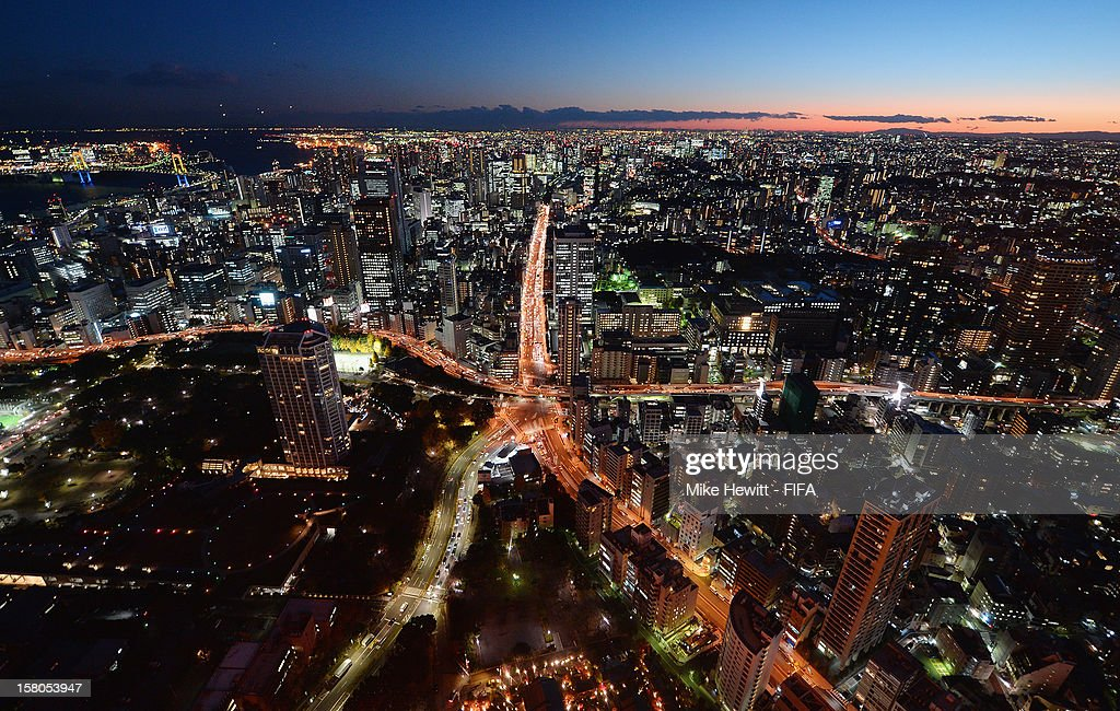 General views of Tokyo ahead of the FIFA Club World Cup on December 10, 2012 in Tokyo, Japan.