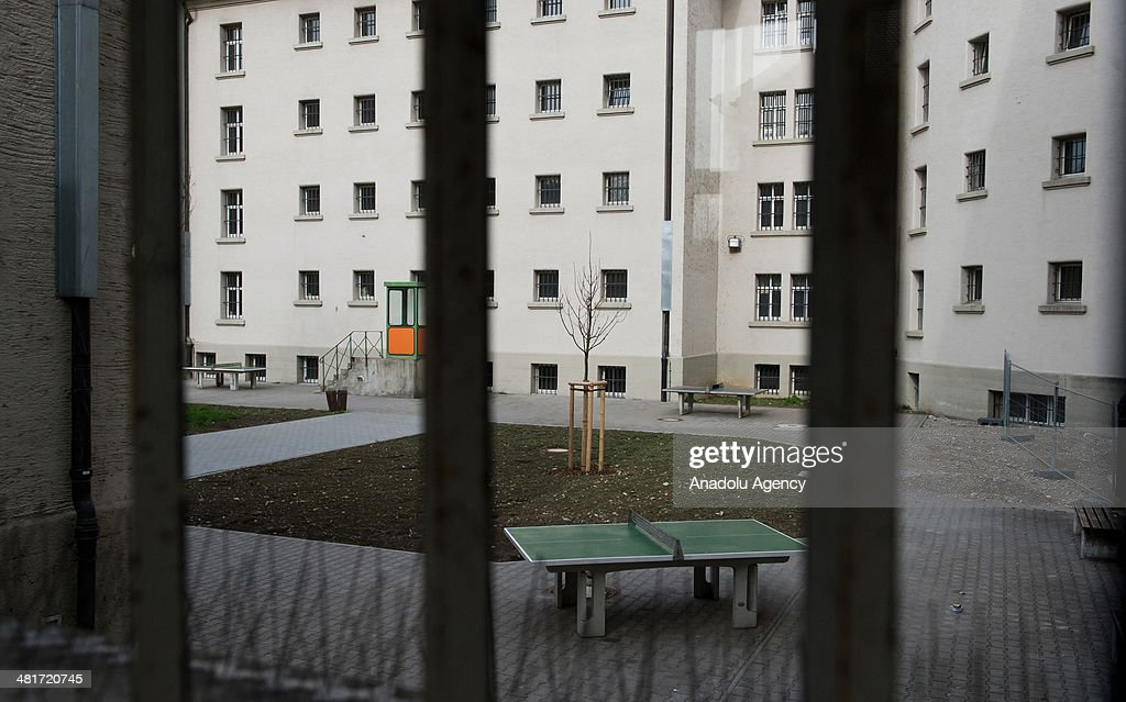 A general wiev of the Landsberg Prison in Munich on March 31 2104 where Uli Hoeness the former FC Bayern Munich president is to serve his threeyear...