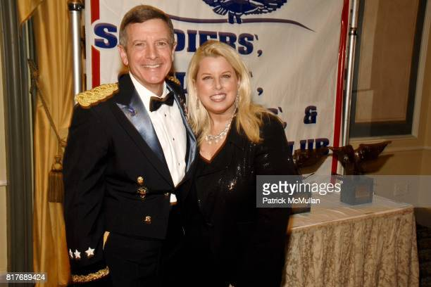General William J Troy and Rita Cosby attend Soldiers' Sailors' Marines' Coast Guard and Airmen's Club 14th Annual Military Ball at The Pierre Hotel...