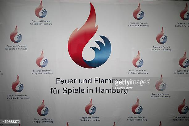 A generale view during the Hamburg Launches Olympia 2024 Bid Process on July 6 2015 in Hamburg Germany