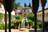 """""""Generalife, a part of the Alhambra in Granada, Spain."""""""