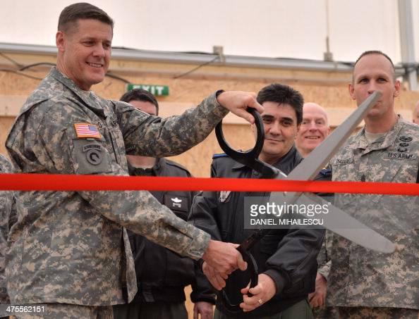 Us General Major John O Connor L And Romanian General