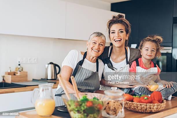 Generations of femininity