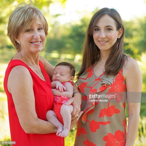 3 Generations - Women With Newborn
