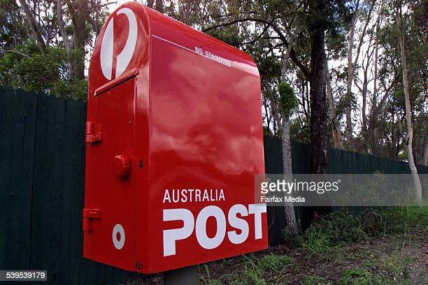 Generic Australia Post mail box on 14 March 2003 AFR Picture by ROBERT ROUGH