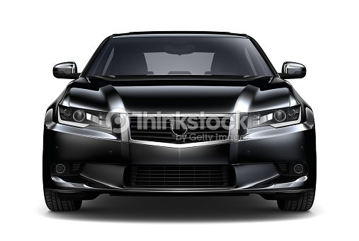 generic noir voiture vue de face photo thinkstock. Black Bedroom Furniture Sets. Home Design Ideas