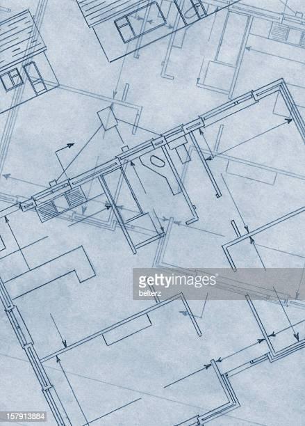 generic blueprint background