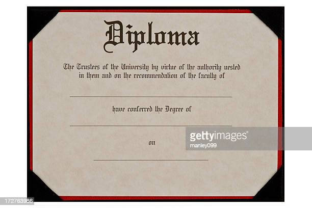 generic educational diploma