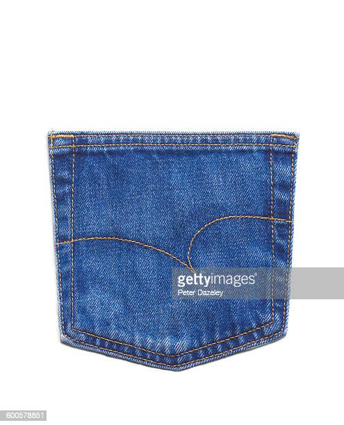Generic jeans back pocket