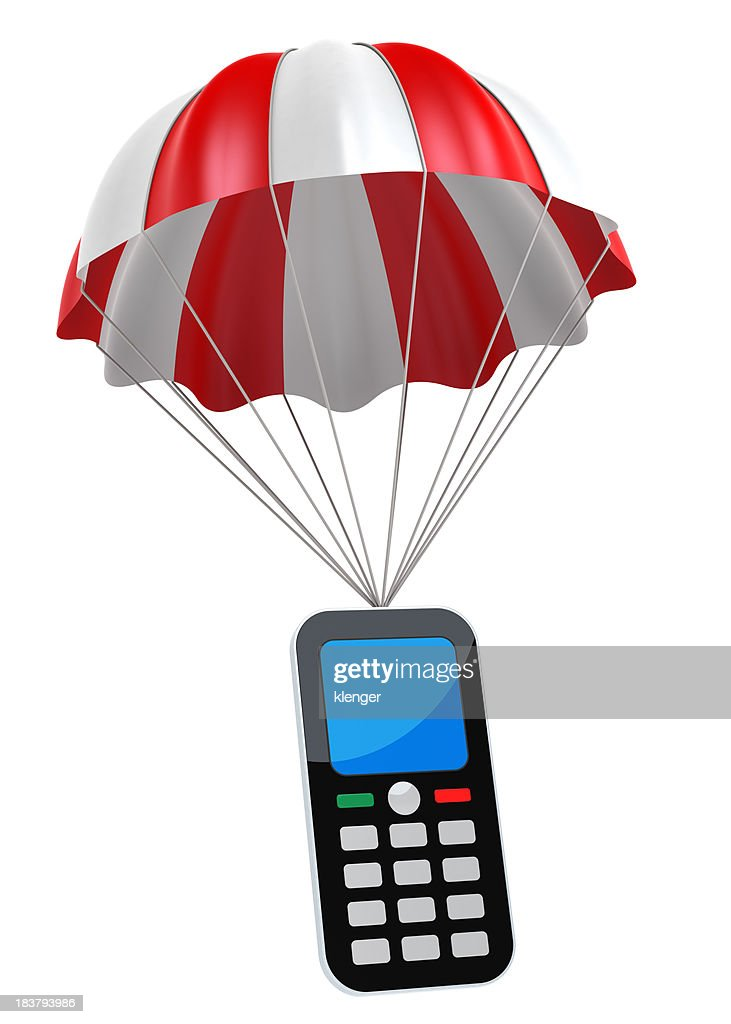 Generic Mobile Phone and Parachute
