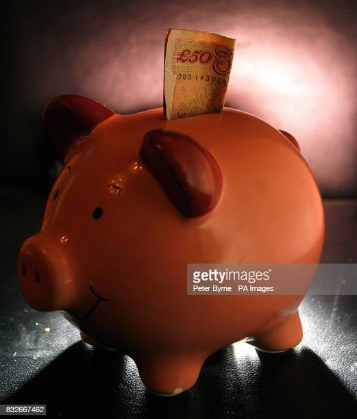A generic picture of money in a piggy bank