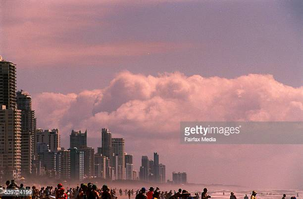 Generic picture of the beach at Broadbeach Surfers Paradise Gold Coast Queensland 18 March 2000 AFR Picture by VIRGINIA STAR