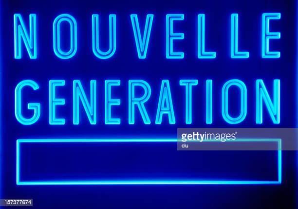Allgemeiner Schild: nouvelle generation