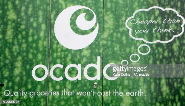 A generic stock photo of an Ocado home delivery van in south west London
