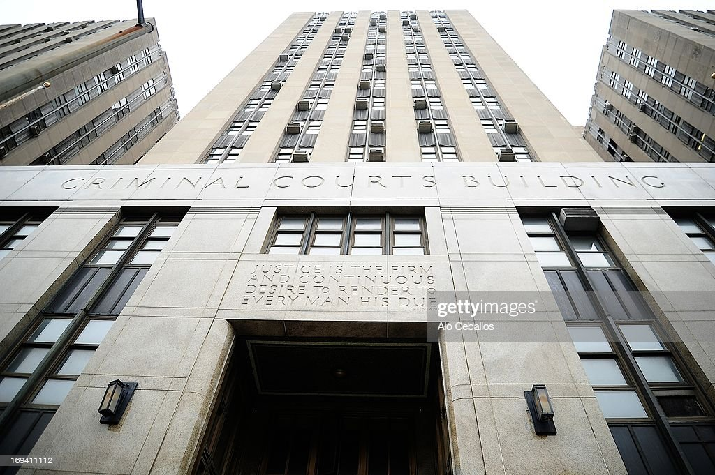 A generla view of the Manhattan Central Booking after actress Amanda Bynes was arrested on May 23 2013 for alleged charges of reckless endangerment, tampering with evidence and criminal possession of marijuana at Manhattan Criminal Court on May 24, 2013 in New York City.
