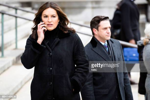 UNIT 'Genes' Episode 1815 Pictured Mariska Hargitay as Olivia Benson Raul Esparza as ADA Rafael Barba