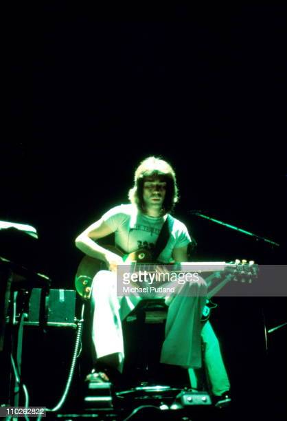 Genesis perform on stage London Steve Hackett