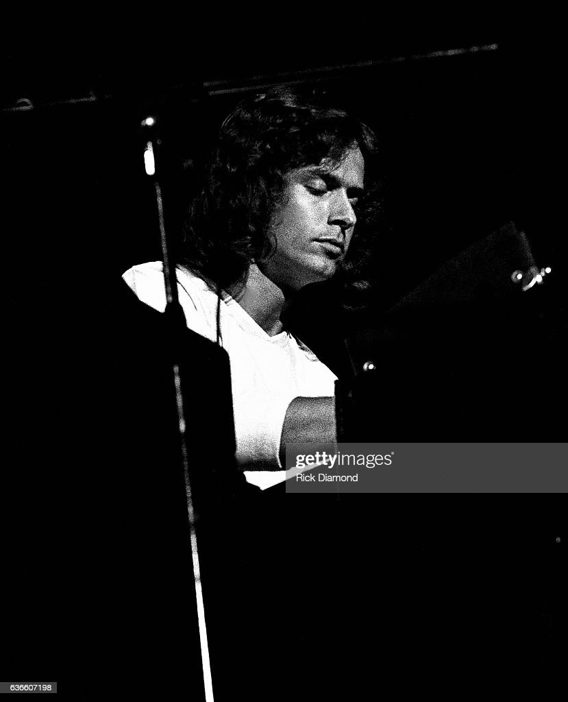 Genesis, Rock and Roll Hall of Fame (Class of 2010) Singer/Songwriter Tony Banks performs at The Omni Coliseum in Atlanta Georgia October 4, 1978