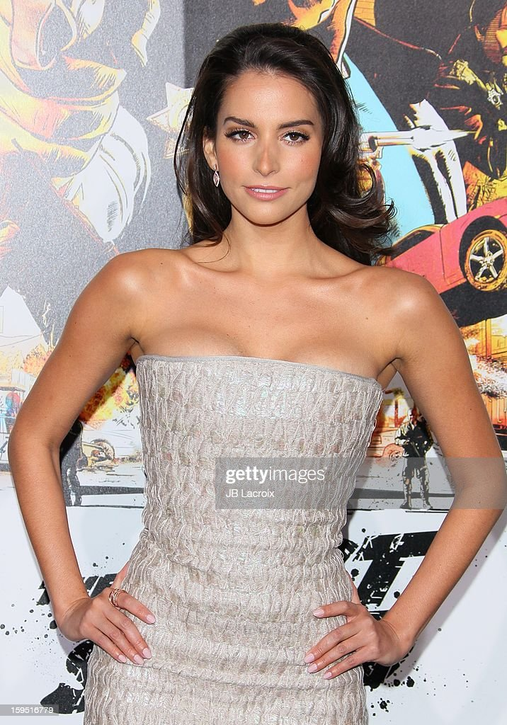 Genesis Rodriguez attends 'The Last Stand' - Los Angeles Premiere at Grauman's Chinese Theatre on January 14, 2013 in Hollywood, California.