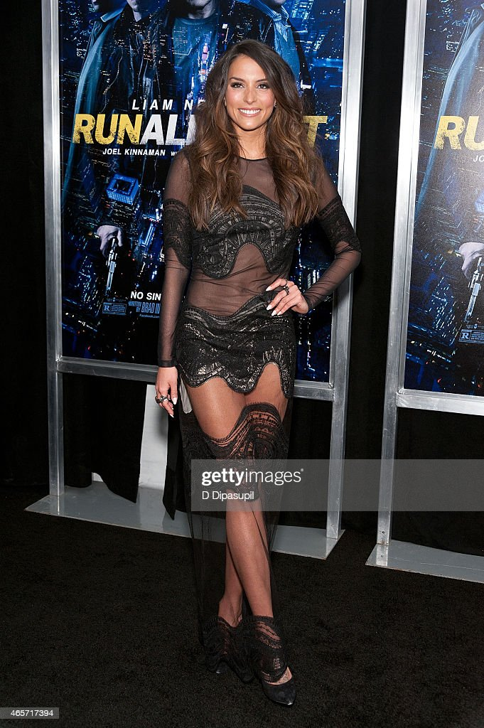 Genesis Rodriguez attends the 'Run All Night' New York Premiere at AMC Lincoln Square Theater on March 9 2015 in New York City