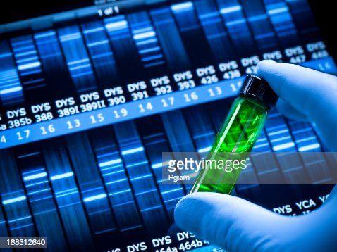 Genetic DNA research at the laboratory
